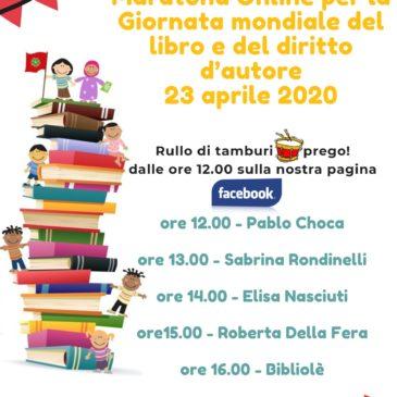 Maratona online per la Giornata Mondiale del Libro 23 aprile 2020